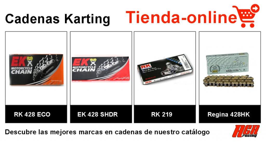 comprar recambio cadena kart