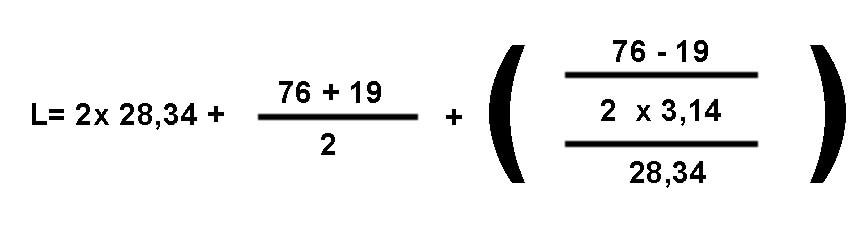 ejemplo como calcular el largo de cadena