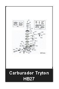 comprar carburador Tryton HB27 para x30