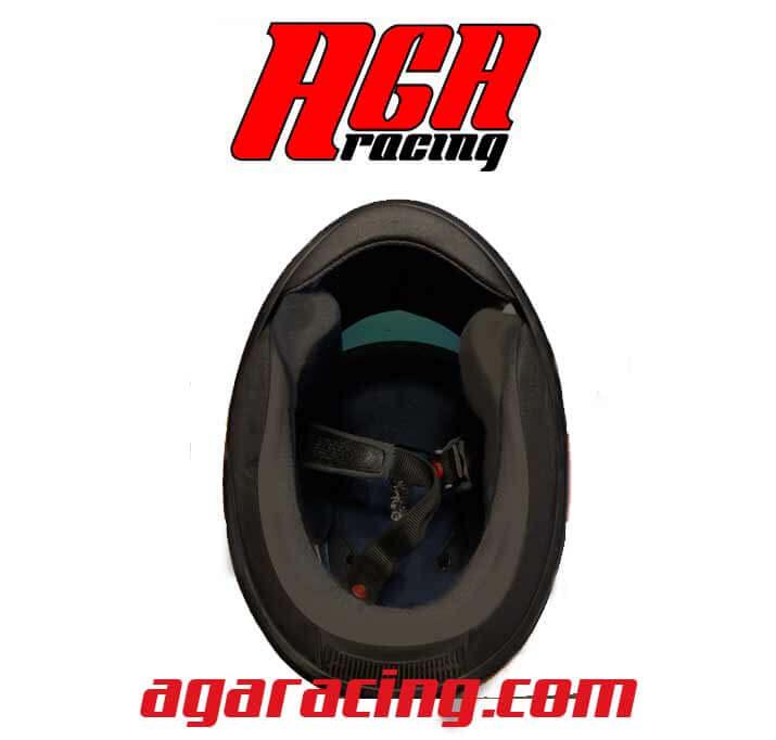 interior casco karting aga racing tienda karting